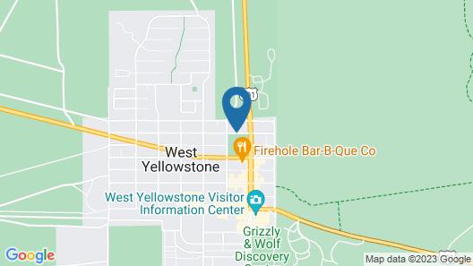 Best Western Weston Inn Map