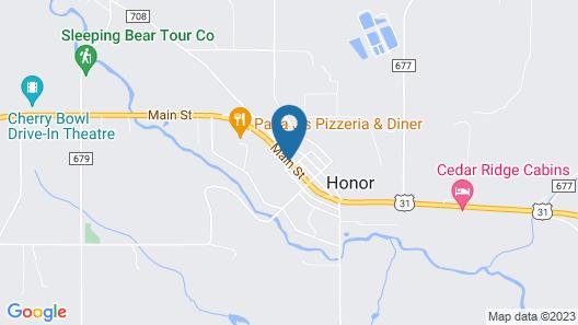 Honor Motel Map
