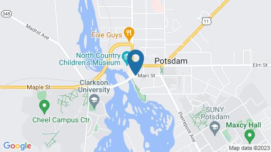 The Clarkson Inn Map