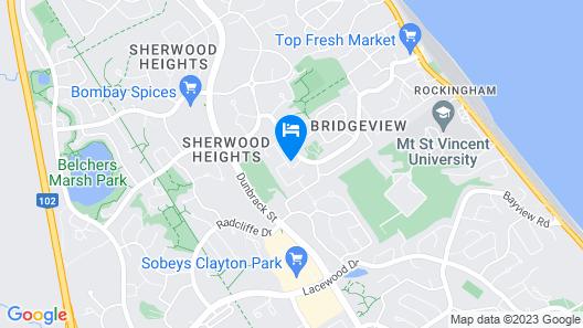 Beatonridge Inn Map