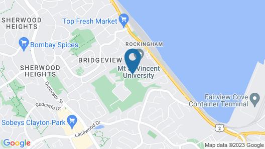 Mount Saint Vincent University Residence Map