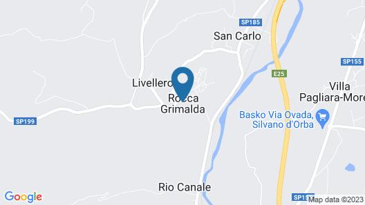 La Maddalena Bed & Wine Map