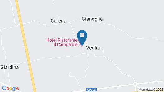 Hotel Il Campanile Map