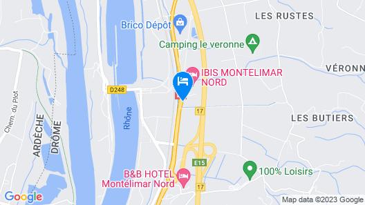 ibis Montelimar Nord Map