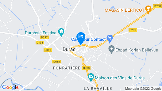 LOGIS Hostellerie des Ducs Map