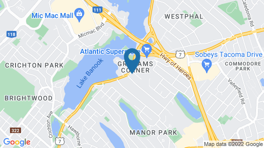 Hearthstone Inn Boutique Hotel Halifax - Dartmouth Map