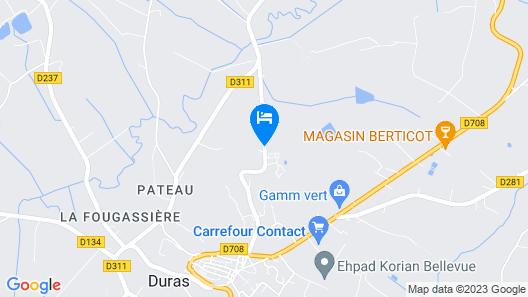 Le Cabri Resort Map