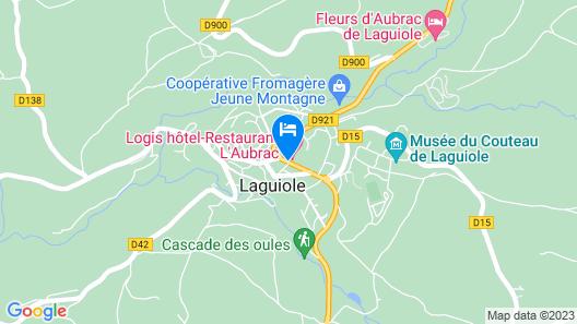 Hotel L'Aubrac Map