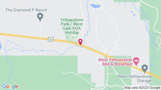 Under Canvas Yellowstone Map