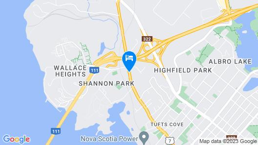 Comfort Inn Dartmouth Map
