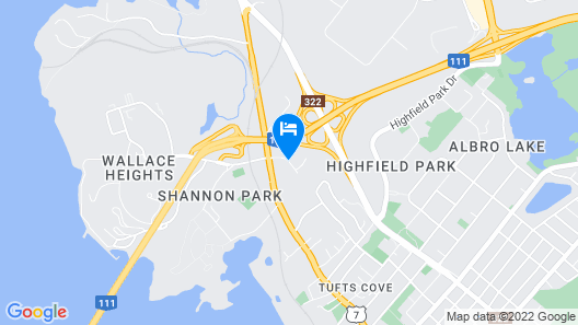 Travelodge Suites by Wyndham Halifax Dartmouth Map