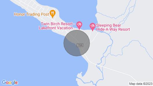 Explore Sleeping Bear: Beach House Map