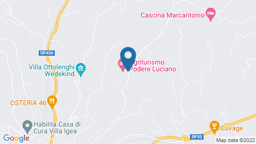 Agriturismo Podere Luciano Map