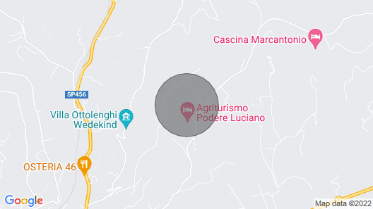 Costa dei Platani - Wine & Relax - Guests and Family House Map