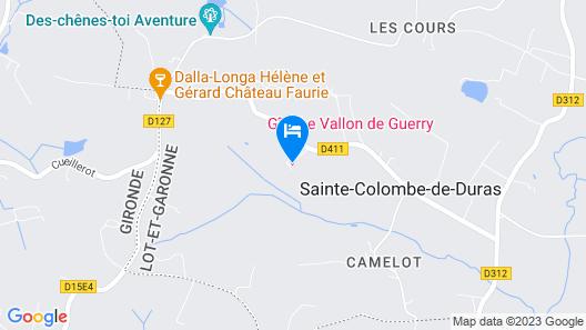 Le Vallon De Guerry Map