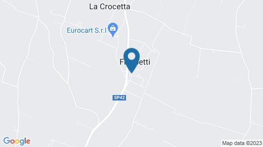 Hotel Castello D'Argile Map