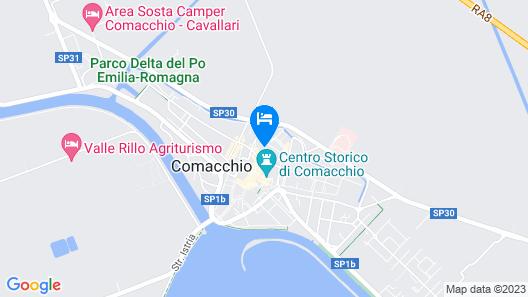 Villa Cavour Map