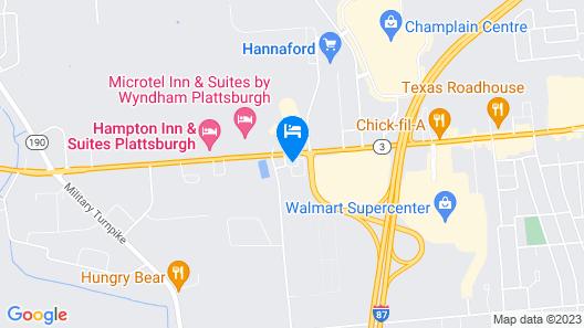 Holiday Inn Express Plattsburgh, an IHG Hotel Map
