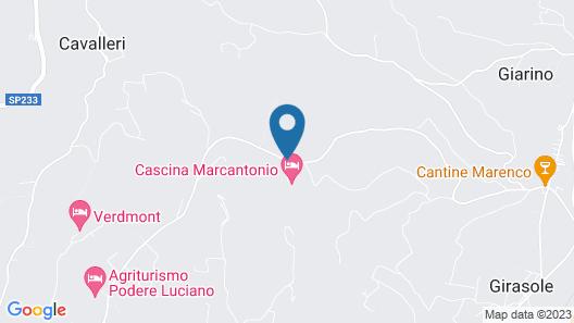 Cascina Marcantonio Map