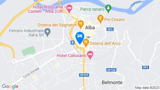 Hotel Savona Map