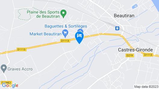 Château Couloumey Map