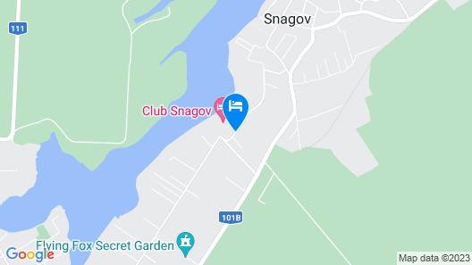 Hotel Snagov Club Map