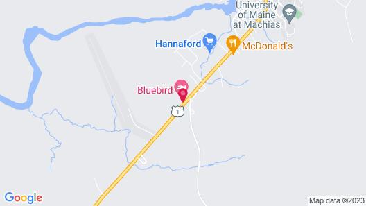 The Bluebird Motel Map
