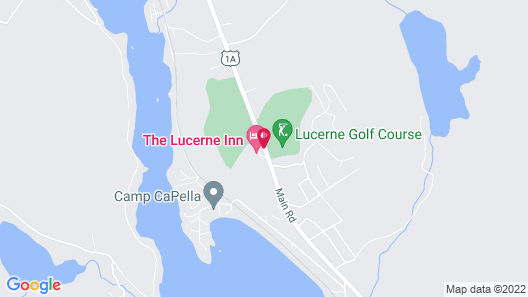 The Lucerne Inn Map
