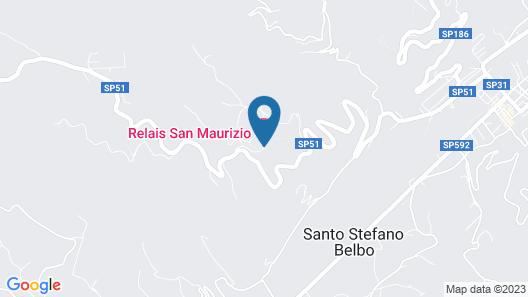 Relais San Maurizio - LHW Map
