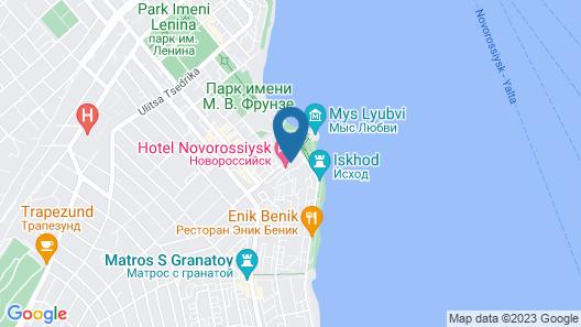 Novorossiysk Map