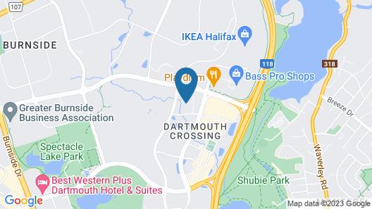 Residence Inn by Marriott Halifax Dartmouth Map