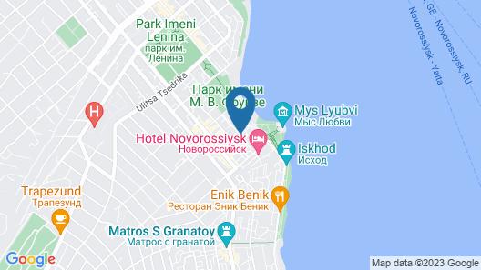 Hilton Garden Inn Novorossiysk Map