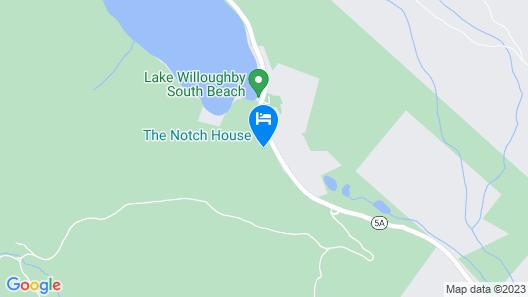 The Notch House Map