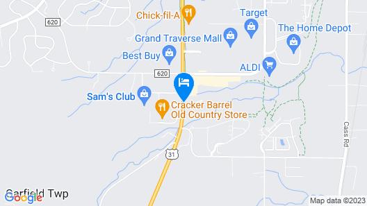 Baymont by Wyndham Traverse City Map