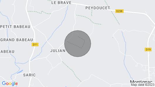 Chateau Levet at Nouvelle-Aquitaine Map