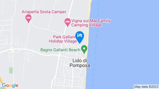 Park Gallanti Holiday Village Map