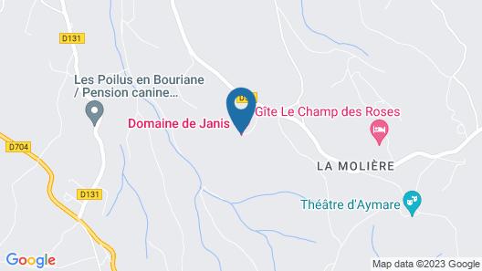 Domaine de Janis Map