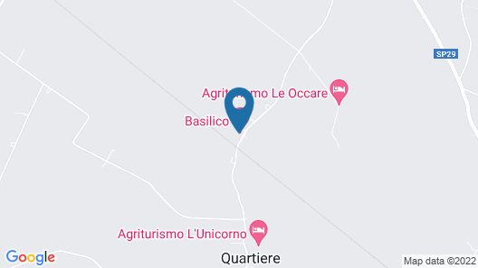 Room & Breakfast Basilico Map