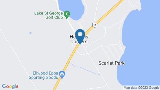 BestLiving Motel Map