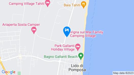 Vigna sul mar Camping Village Map