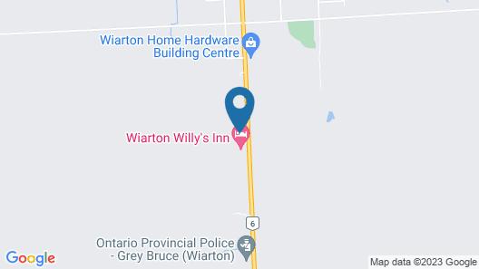 Wiarton willys inn Map