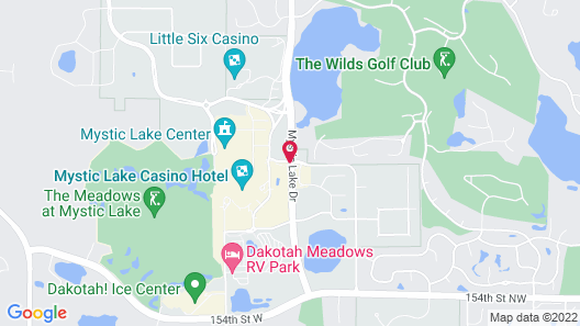 Mystic Lake Casino Hotel Map