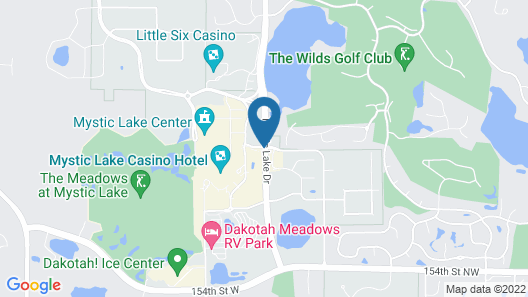 Mystic Lake Casino Hotel Map