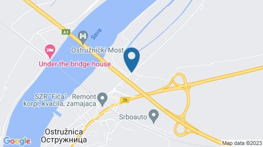 Lucky River Belgrade Map