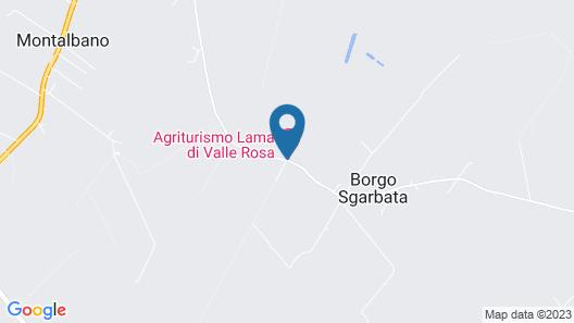 Lama di Valle Rosa Map