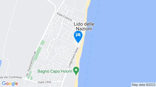 Hotel Quadrifoglio Map