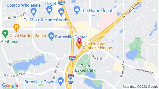 Hampton Inn Minneapolis/Burnsville Map