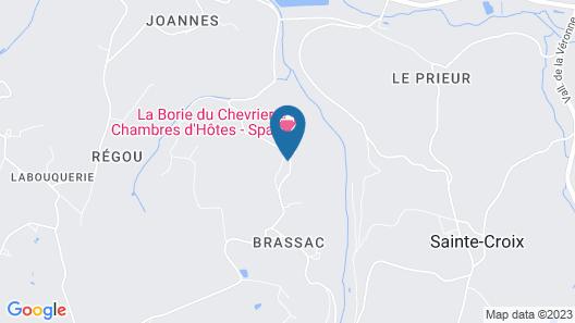 La Borie du Chevrier Map