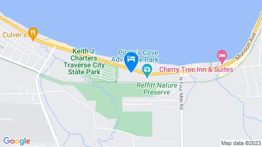 Seasons Inn Traverse City Map