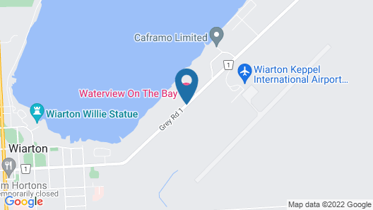 Waterview On The Bay Map